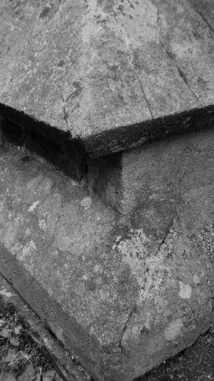 Church corner stone.